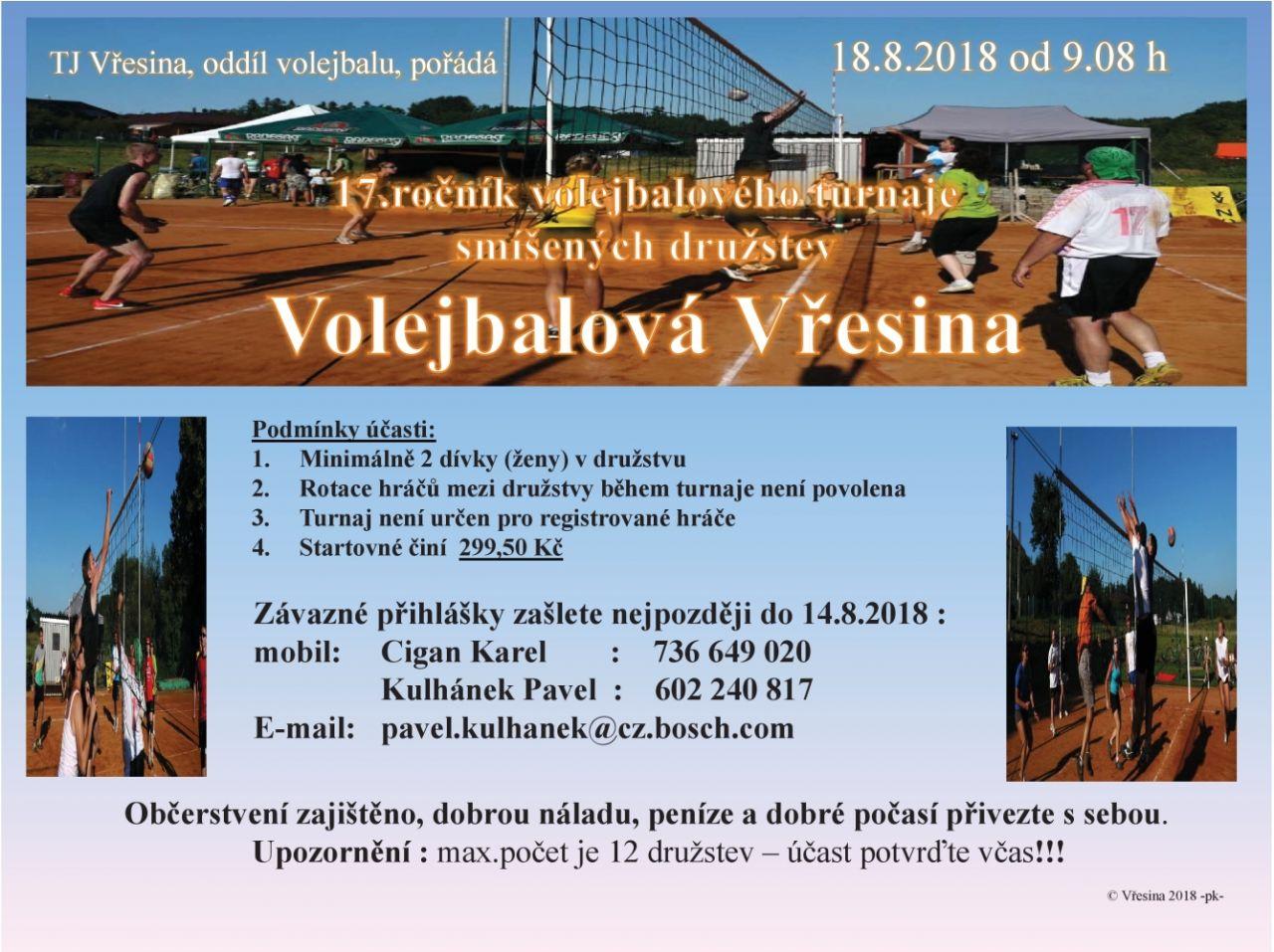 Volejbalová Vřesina