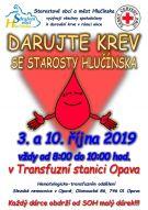 Daruj krev se starosty Hlučínska